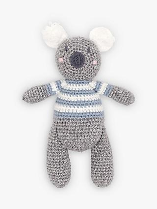 Albetta Crochet Koala Rattle Toy