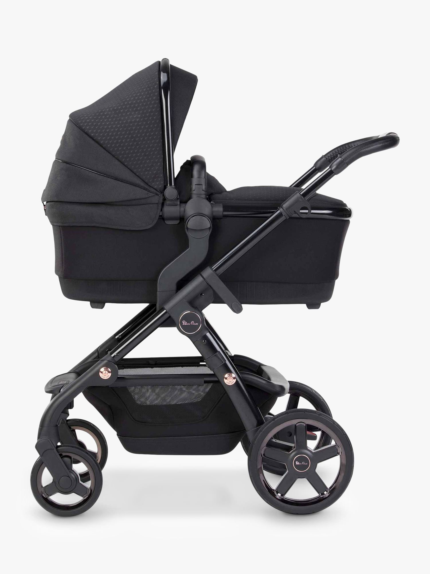 Silver Cross Wave 2020 Pushchair and Carrycot, Eclipse