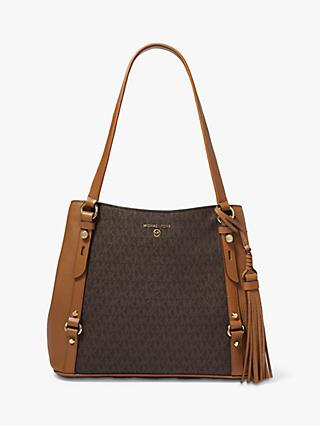 MICHAEL Michael Kors Carrie Large Signature Tote Bag