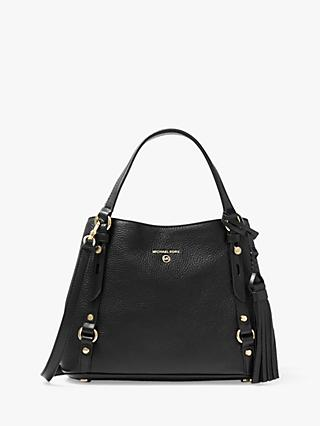 MICHAEL Michael Kors Carrie Leather Messenger Bag