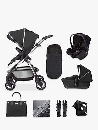 Silver Cross Wayfarer 2020 Simplicity Plus 10 Piece Pushchair and Carrycot Bundle, Pepper