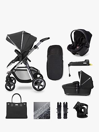 Silver Cross Pioneer 2020 Simplicity Plus 11 Piece Pushchair and Carrycot Bundle, Pepper