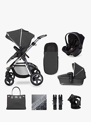 Silver Cross Pioneer 2020 Simplicity Plus 10 Piece Pushchair and Carrycot Bundle, Clay