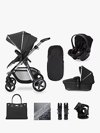 Silver Cross Pioneer 2020 Simplicity Plus 10 Piece Pushchair and Carrycot Bundle, Pepper