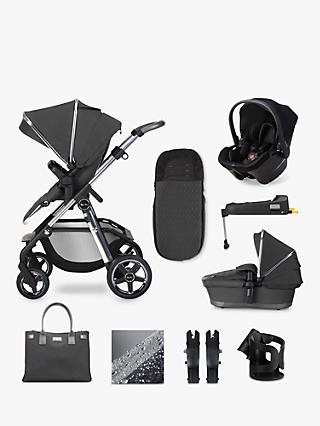 Silver Cross Pioneer 2020 Simplicity Plus 11 Piece Pushchair and Carrycot Bundle, Clay