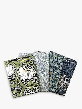 Visage Textiles V&A William Morris Print Fat Quarter Fabrics, Pack of 4, Multi