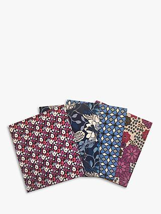 Visage Textiles Imagine Printed Fat Quarter Fabrics, Pack of 4, Multi