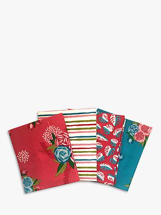 Visage Textiles Amazonia Printed Fat Quarter Fabrics, Pack of 4, Multi