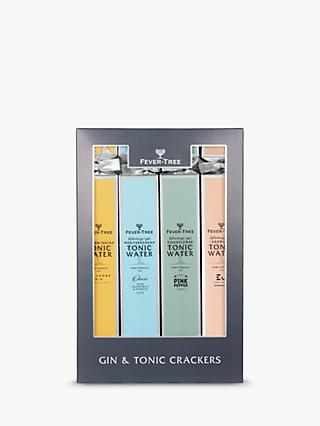 Fever-Tree Gin and Tonic Pairing Crackers, Box of 4, 5cl & 150ml