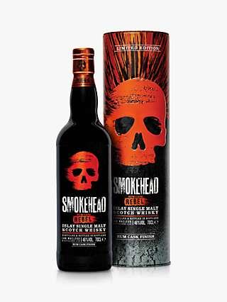 Smokehead Rum Rebel Islay Single Malt Scotch Whisky, 70cl