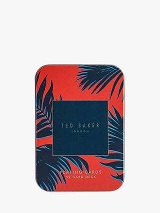Ted Baker Playing Cards in Tin Case