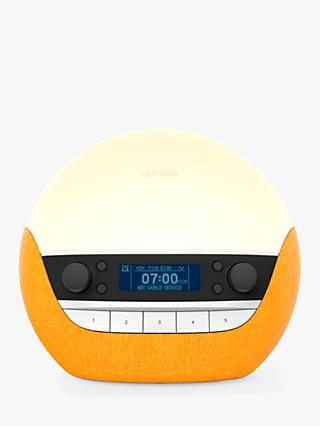 Lumie Bodyclock Luxe 750DAB Wake up to Daylight Table Lamp
