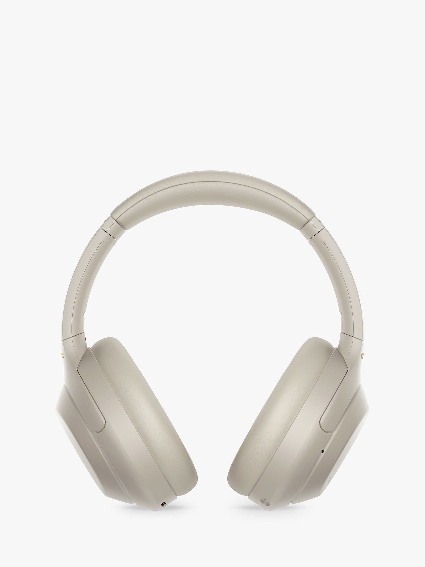 Buy Sony WH-1000XM4 Noise Cancelling Wireless Bluetooth NFC High Resolution Audio Over-Ear Headphones with Mic/Remote, Silver Online at johnlewis.com