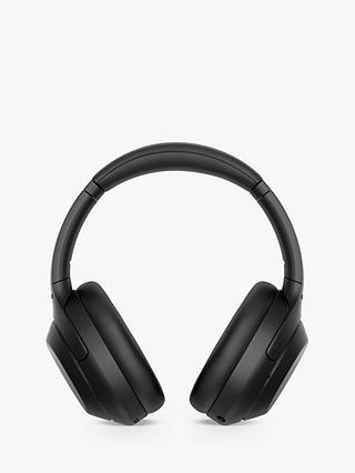 Buy Sony WH-1000XM4 Noise Cancelling Wireless Bluetooth NFC High Resolution Audio Over-Ear Headphones with Mic/Remote, Black Online at johnlewis.com