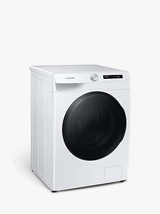 Samsung Series 5+ WD80T534DBW Freestanding Washer Dryer, 8kg/5kg Load, 1400rpm Spin, White
