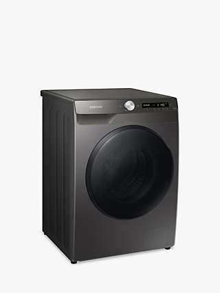 "Samsung Series 5+ WD90T534DBN Freestanding ecobubbleâ""¢ Washer Dryer, 9kg/6kg Load, 1400rpm Spin, Graphite"