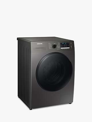 Samsung WD90TA046BX Freestanding Washer Dryer, 9kg Wash/6kg Dry Load, B Energy Rating, 1400rpm Spin, Graphite