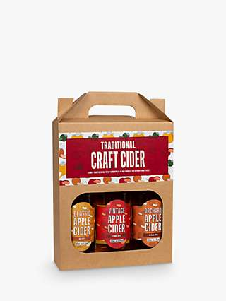 Cottage Delight Traditional Craft Cider, 3x 500ml