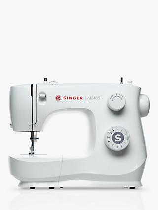 Singer M2405 Sewing Machine, White