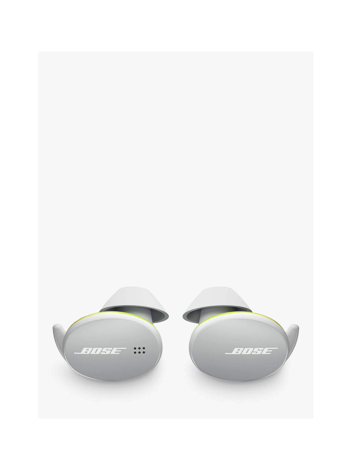 Buy Bose® Sport Earbuds True Wireless Sweat & Weather-Resistant Bluetooth In-Ear Headphones with Mic/Remote, Glacier White Online at johnlewis.com