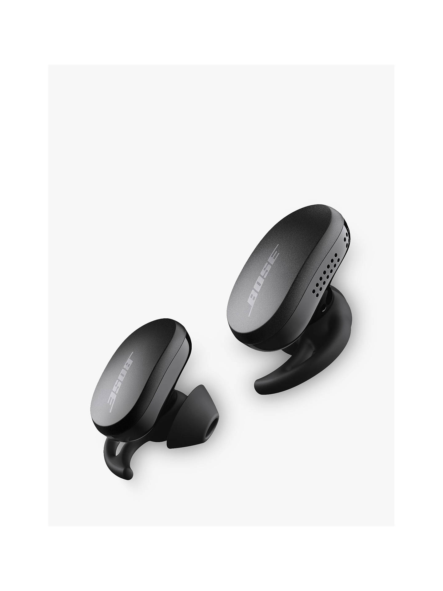 Buy Bose® QuietComfort® Earbuds Noise Cancelling True Wireless Sweat & Weather-Resistant Bluetooth In-Ear Headphones with Mic/Remote, Triple Black Online at johnlewis.com