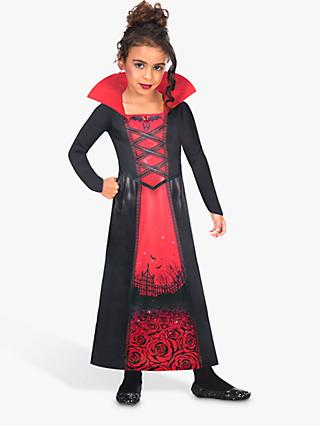 Rose Vampire Sustainable Children's Costume, 8-10 Years