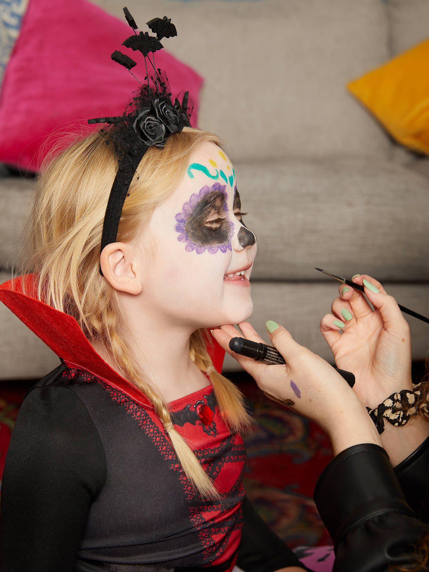 Buy Rose Vampire Sustainable Children's Costume, 8-10 Years Online at johnlewis.com