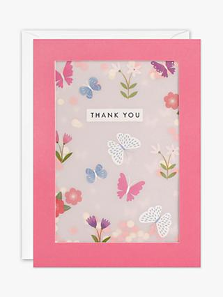James Ellis Stevens Butterfly Shakies Thank You Card