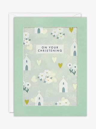 James Ellis Stevens Shakies Christening Card