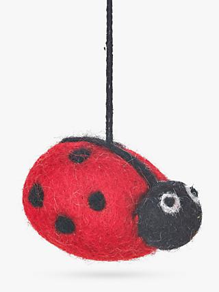 Felt So Good Ladybird Felt Easter Tree Decoration