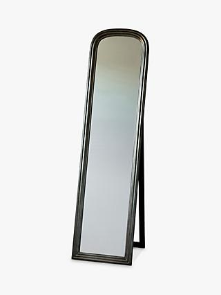 Beck Cheval Mirror, 160 x 42cm, Brushed Brass