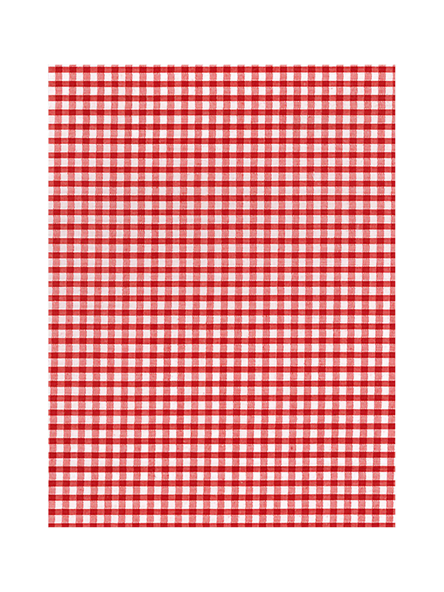Buy Oddies Textiles 1/8 Gingham Print Fabric, Red Online at johnlewis.com