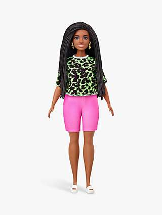 Barbie Fashionistas Neon Leopard Outfit Doll