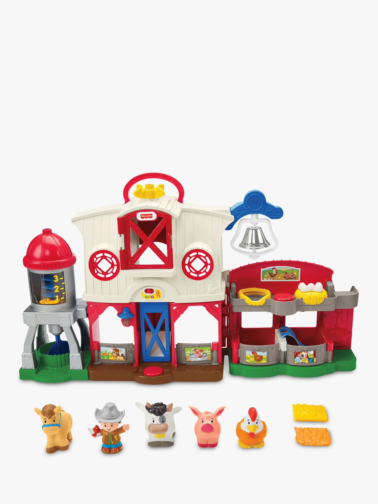 Fisher Price Little People Caring For Animals Farm Play Set At John Lewis Partners