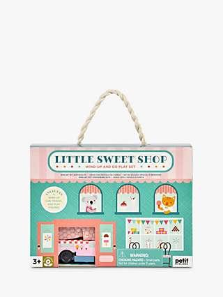 Petit Collage Wind Up & Go Little Sweet Shop Play Set