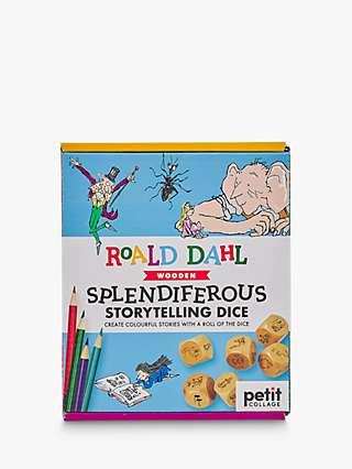 Petit Collage Roald Dahl Splendiferous Storytelling Dice Board Game