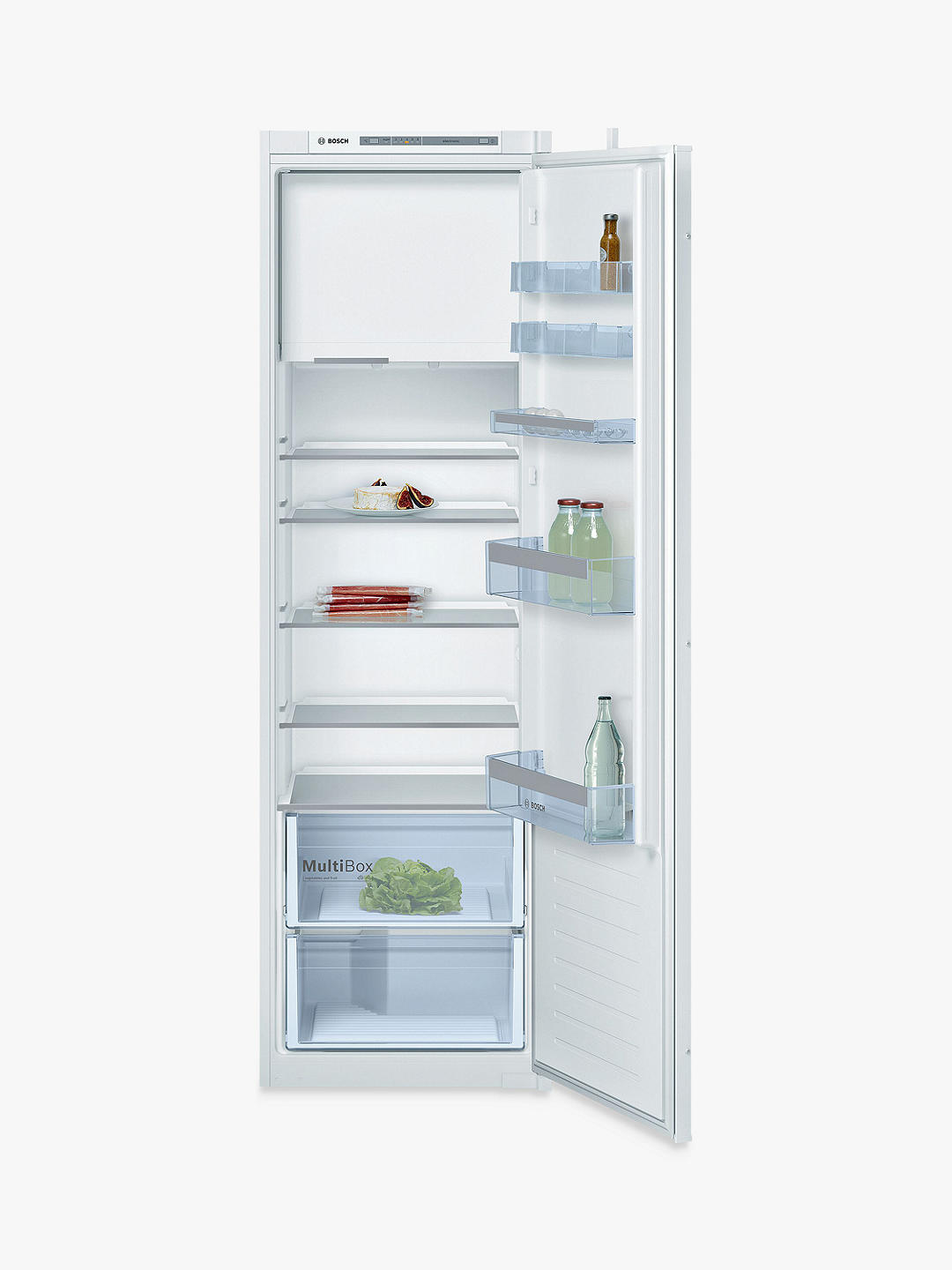 Buy Bosch Serie 4 KIL82VSF0 Integrated Fridge with Ice Box Online at johnlewis.com