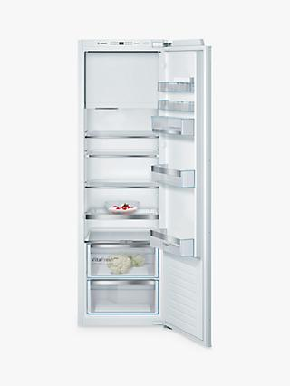 Bosch Serie 6 KIL82AFF0G Integrated Fridge, 56cm Wide, White