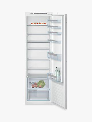 Bosch Serie 4 KIR81VSF0G Integrated Fridge, 55cm Wide, White