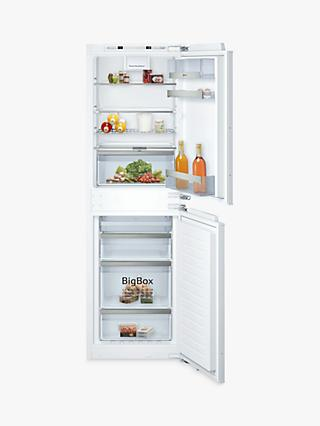 Neff KI7853DE0G Integrated 50/50 Fridge Freezer, A++ Energy Rating, 56cm Wide, White
