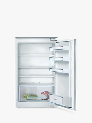 Bosch Serie 2 KIR18NSF0G Integrated Under Counter Fridge, White