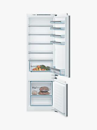 Bosch Serie 4 KIV87VFF0G Integrated 70/30 Fridge Freezer