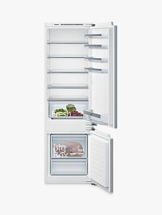 Siemens iQ300 KI87VVFF0G Integrated 70/30 Fridge Freezer, 55cm Wide, White