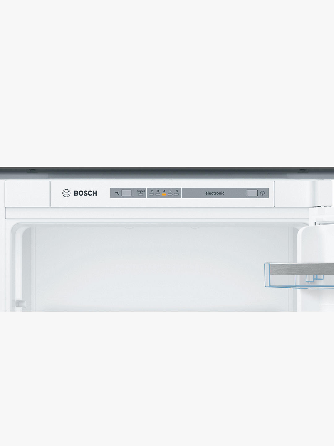 Buy Bosch Serie 4 KIV87VSF0G Integrated 70/30 Fridge Freezer, 55cm Wide, White Online at johnlewis.com
