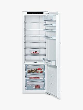 Bosch Serie 8 KIF81PFE0 Integrated Larder Fridge, 56cm Wide, White