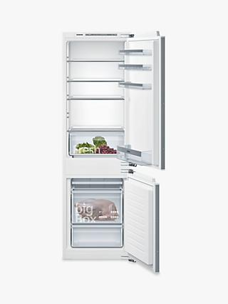 Siemens iQ300 KI86VVFF0G Integrated 60/40 Fridge Freezer, White