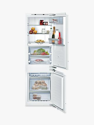 Neff N90 KI8865DE0 Integrated 60/40 Fridge Freezer, 56cm Wide, White