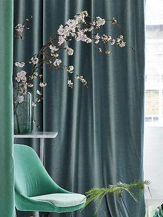 Buy Designers Guild Velluto Furnishing Fabric, Malachite Online at johnlewis.com