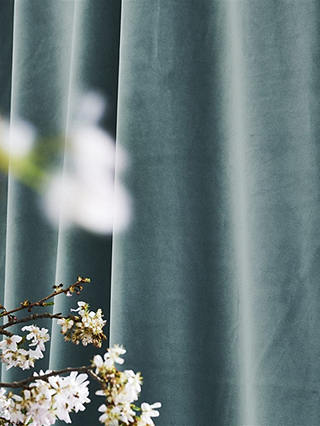 Buy Designers Guild Velluto Furnishing Fabric, Mist Online at johnlewis.com