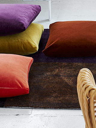 Buy Designers Guild Velluto Furnishing Fabric, Chestnut Online at johnlewis.com